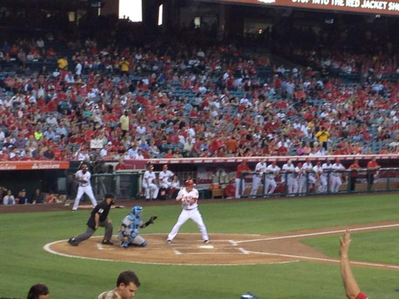 Seating view for Angel Stadium Section F125