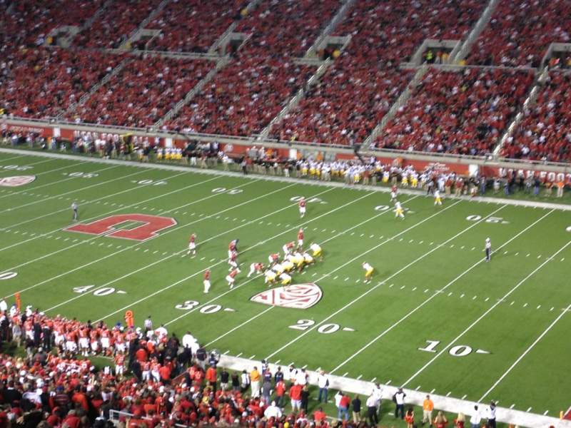 Seating view for Rice-Eccles Stadium Section E33