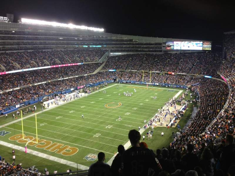 Seating view for Soldier Field Section 436