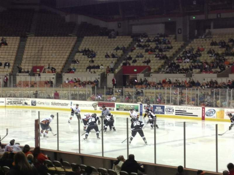 Seating view for Cow Palace Section 15
