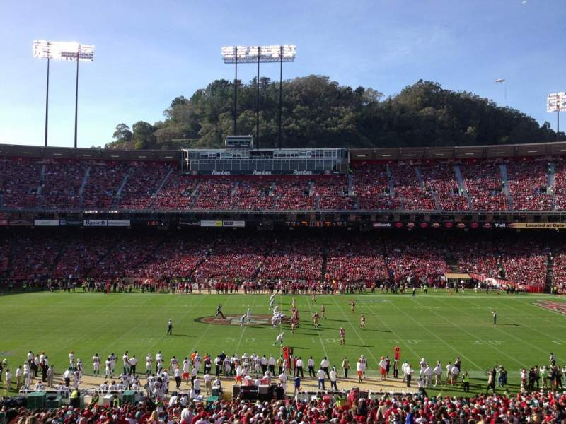 Seating view for Candlestick Park Section 31