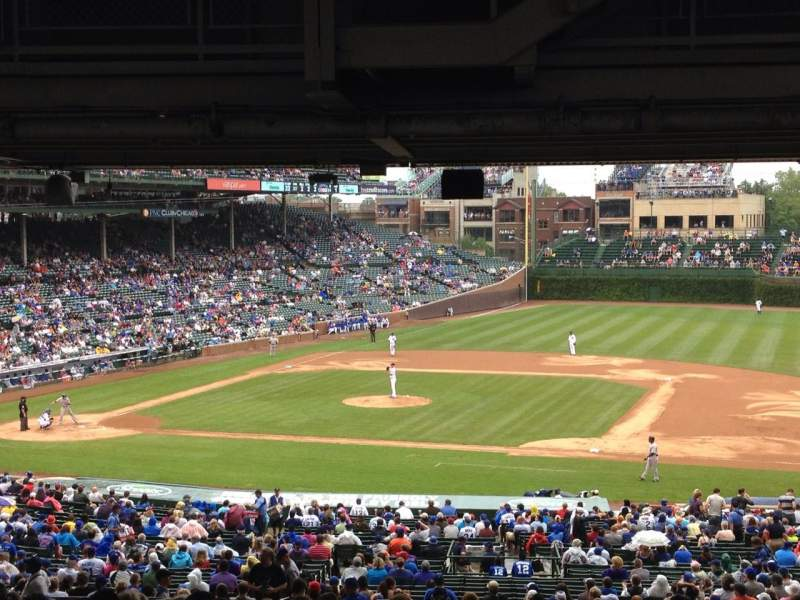 Seating view for Wrigley Field Section 229