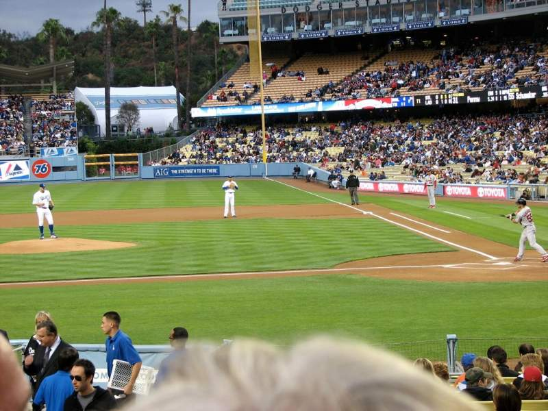 Seating view for Dodger Stadium Section 15FD
