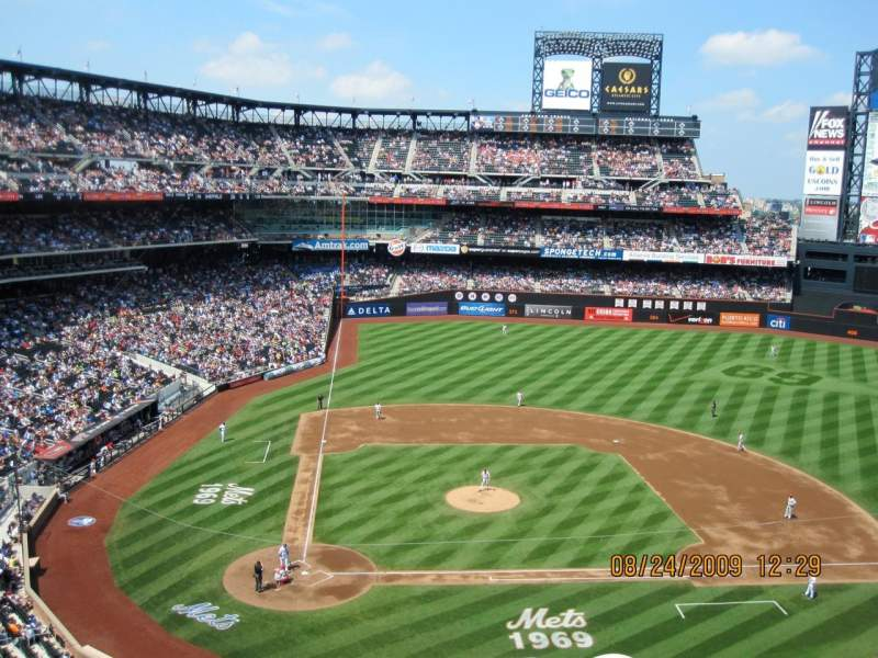 Seating view for Citi Field Section 409