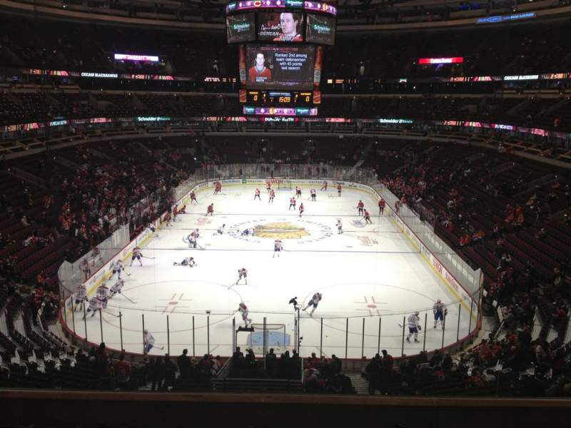 Seating view for United Center Section 226