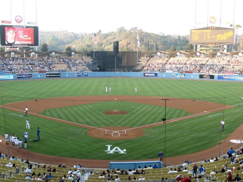Seating view for Dodger Stadium Section 102LG