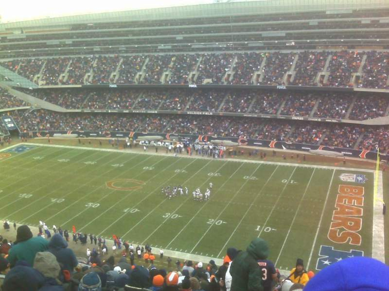Seating view for Soldier Field Section 431