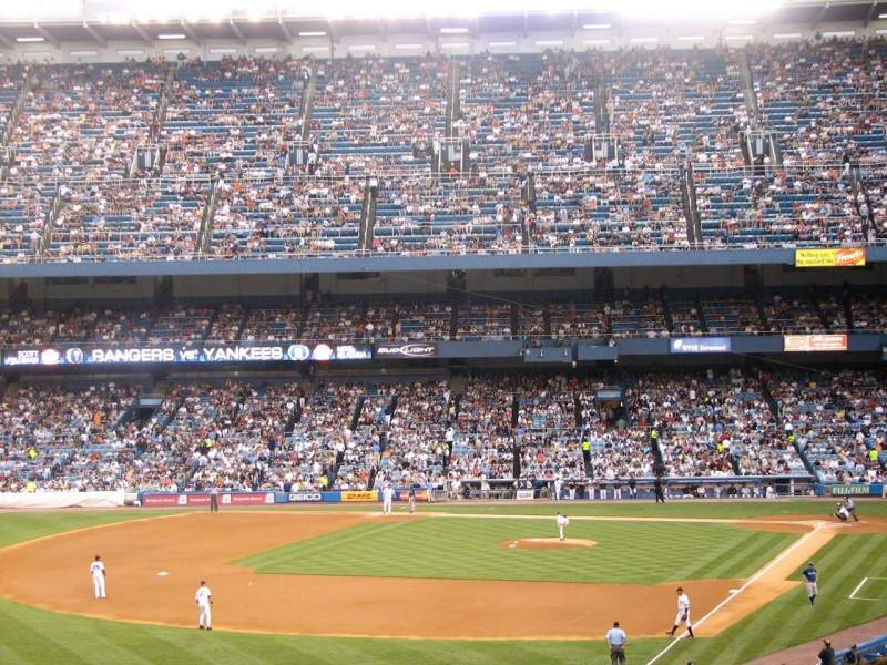Seating view for Old Yankee Stadium
