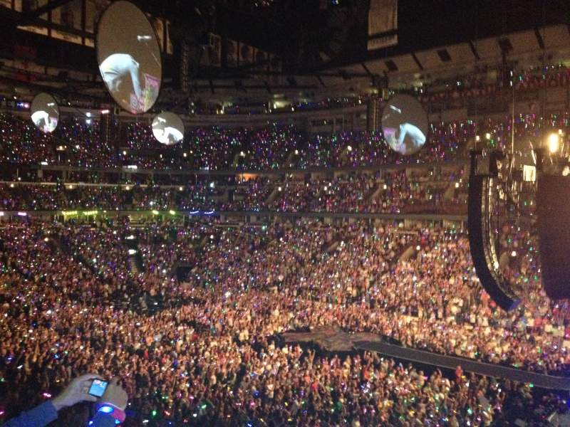 United Center, section: 231, row: 2, seat: 14