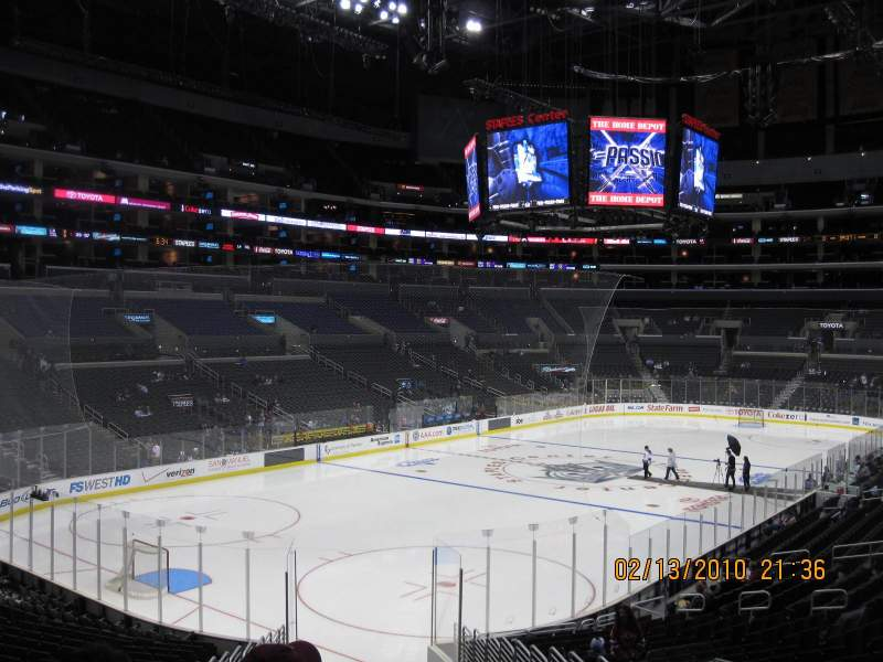 Seating view for Staples Center Section 214