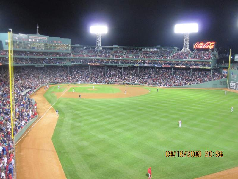 Seating view for Fenway Park Section Budweiser Roof Deck