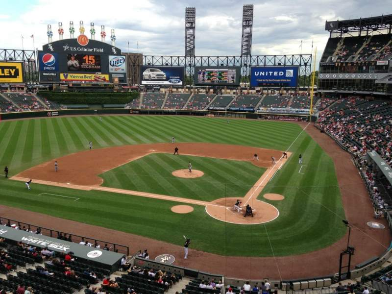 Seating view for Guaranteed Rate Field Section 334 Row WCH Seat 3