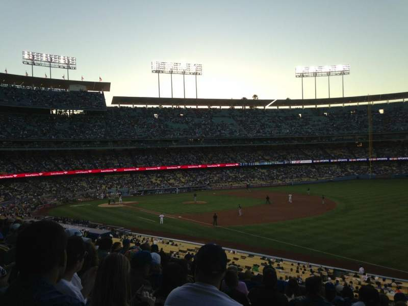 Seating view for Dodger Stadium Section 156LG Row K Seat 2