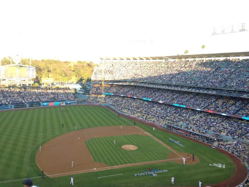 Seating view for Dodger Stadium Section 19RS Row S Seat 21