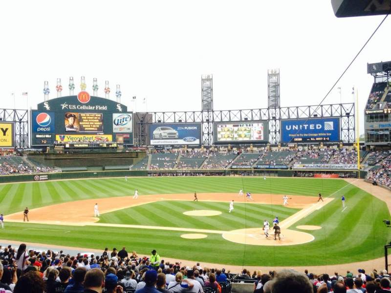 Seating view for U.S. Cellular Field Section 134 Row 37 Seat 16