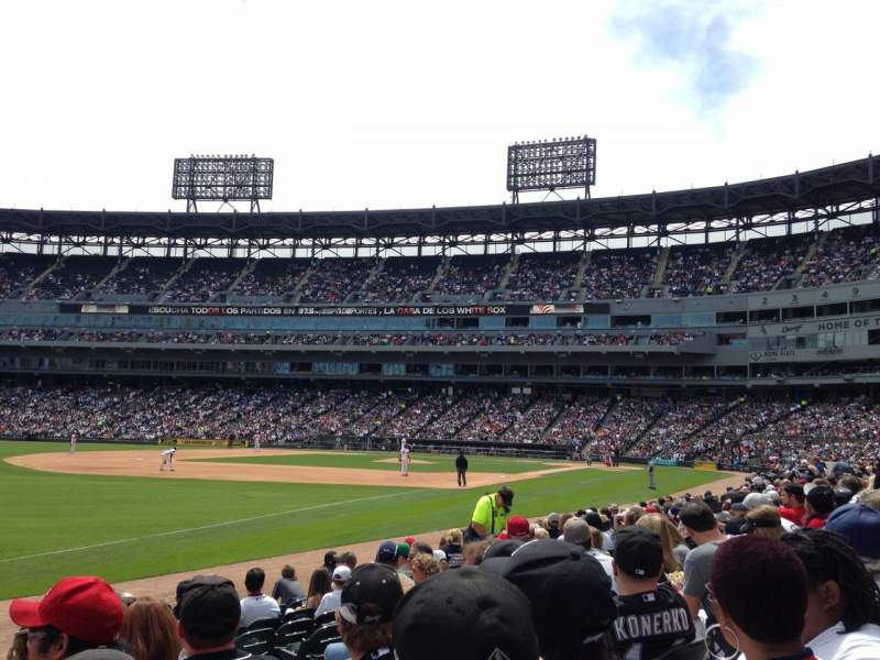 Seating view for Guaranteed Rate Field Section 149 Row 9 Seat 8