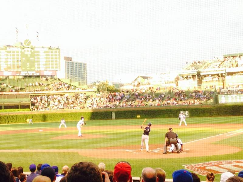 Seating view for Wrigley Field Section 19 Row 9 Seat 102