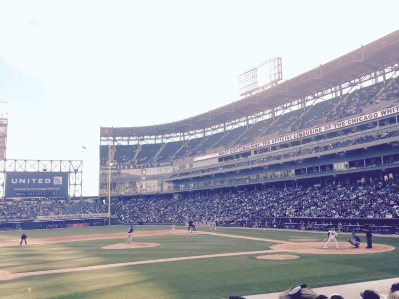 Seating view for U.S. Cellular Field Section 139 Row 10 Seat 1