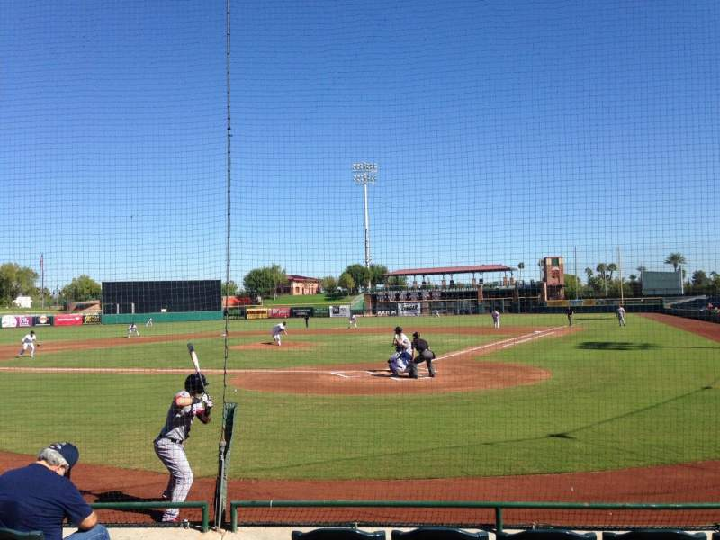 Seating view for Scottsdale Stadium Section 105