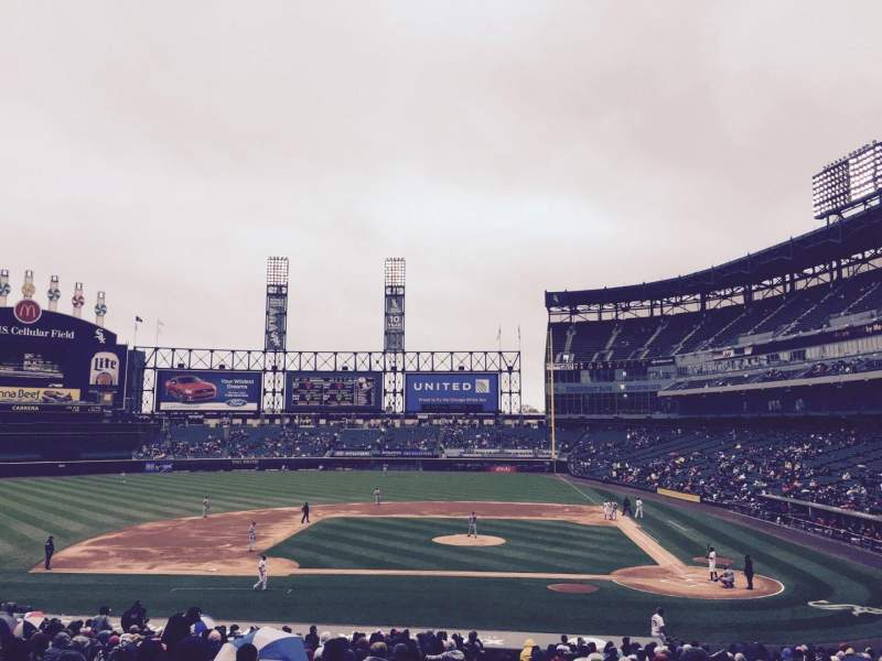 Seating view for U.S. Cellular Field Section 137 Row 35 Seat 8