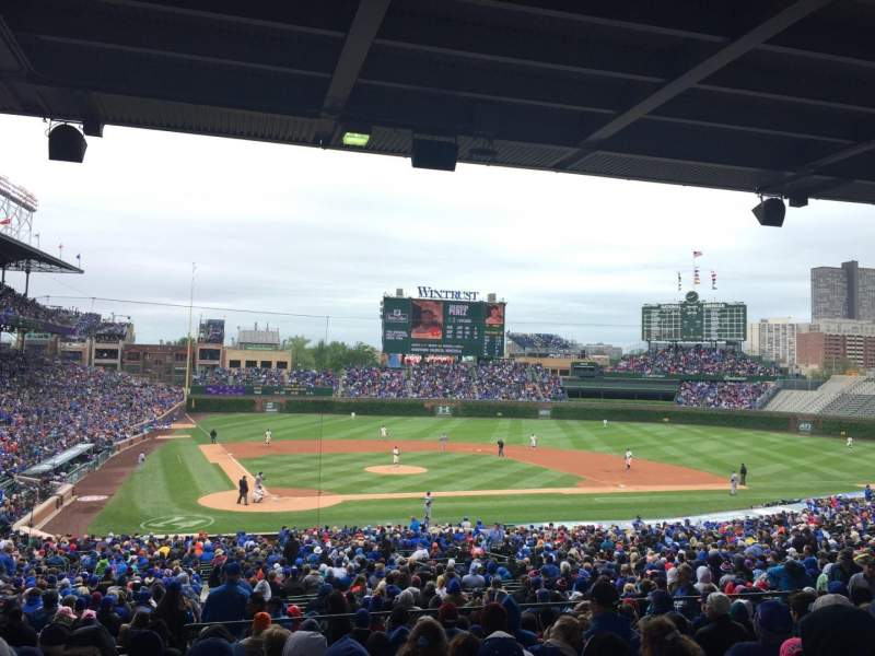 Seating view for Wrigley Field Section 224 Row 11 Seat 3