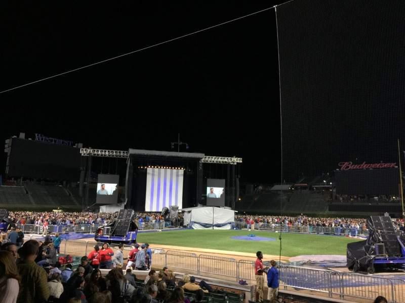 Wrigley Field, section: 17, row: 10, seat: 101