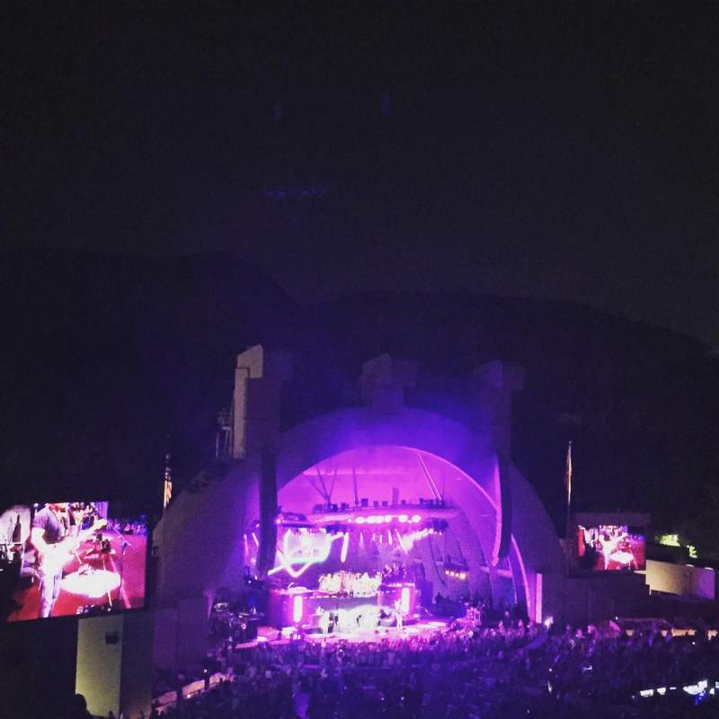 Seating view for Hollywood Bowl Section P3 Row 11 Seat 25