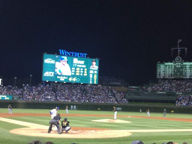 Seating view for Wrigley Field Section 24 Row 7 Seat 102