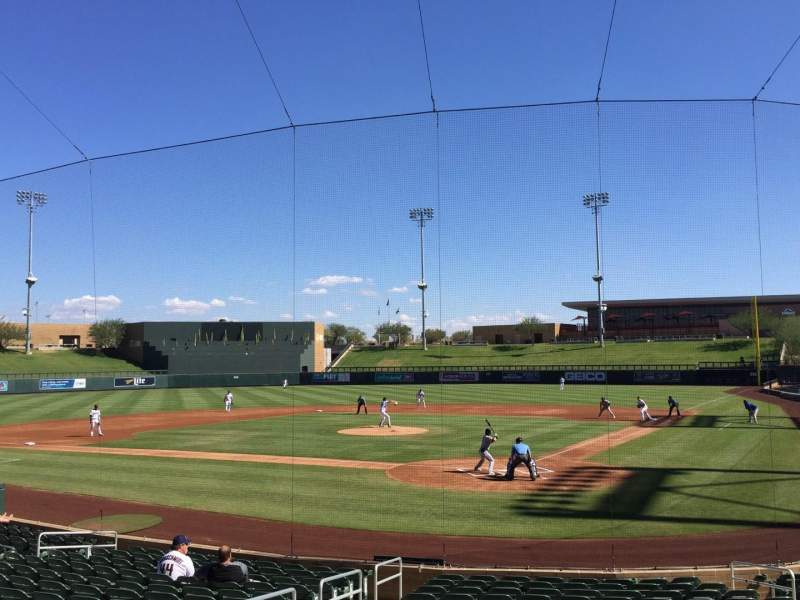 Salt River Fields, section: 213, row: 2, seat: 12
