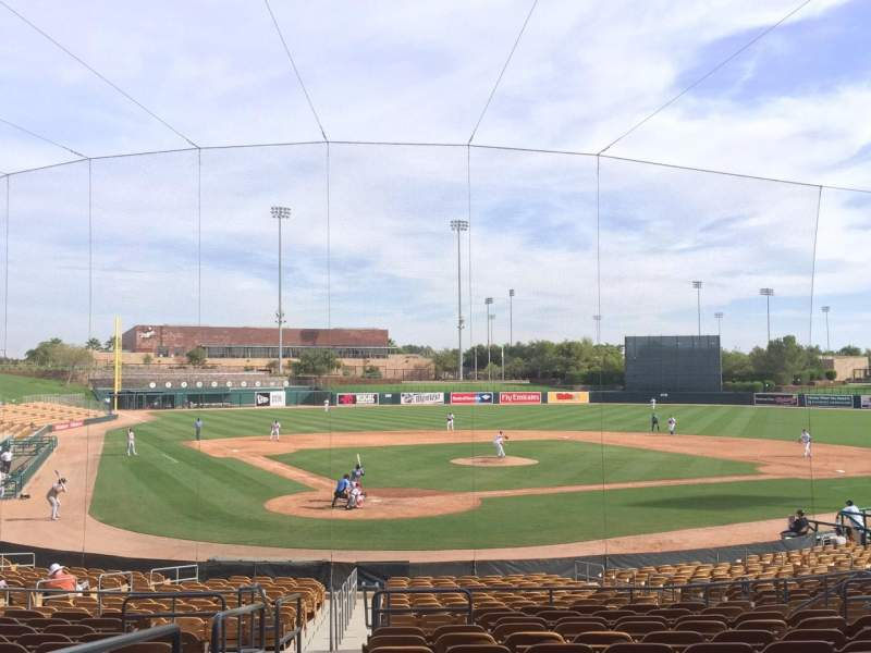 Seating view for Camelback Ranch Section 113 Row 14 Seat 12