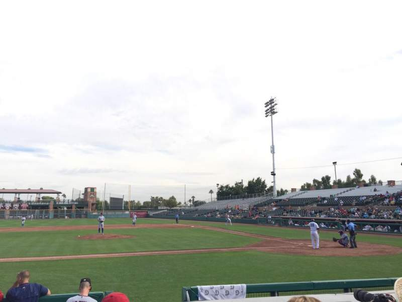 Seating view for Scottsdale Stadium Section 111 Row F Seat 5