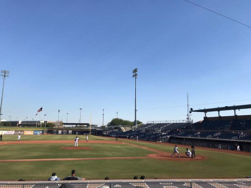 Peoria Sports Complex, section: 109, row: O, seat: 1