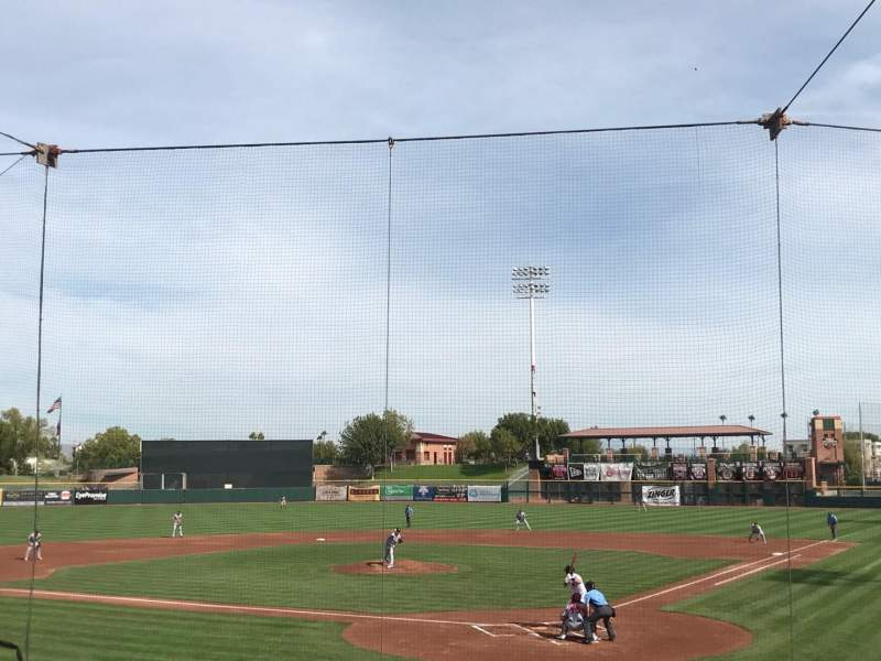 Seating view for Scottsdale Stadium Section 203 Row K Seat 8