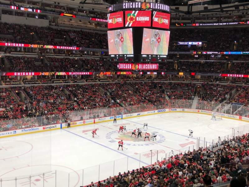 United Center, section: 204, row: 6, seat: 2