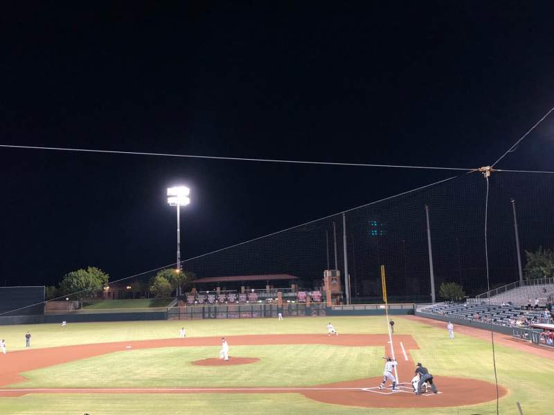 Seating view for Scottsdale Stadium Section 207 Row O Seat 9