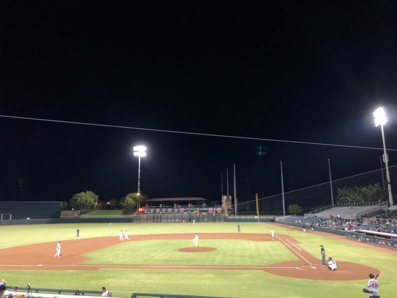 Seating view for Scottsdale Stadium Section 309 Row 2 Seat 22
