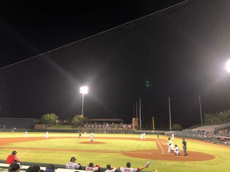 Seating view for Scottsdale Stadium Section 105 Row H Seat 6