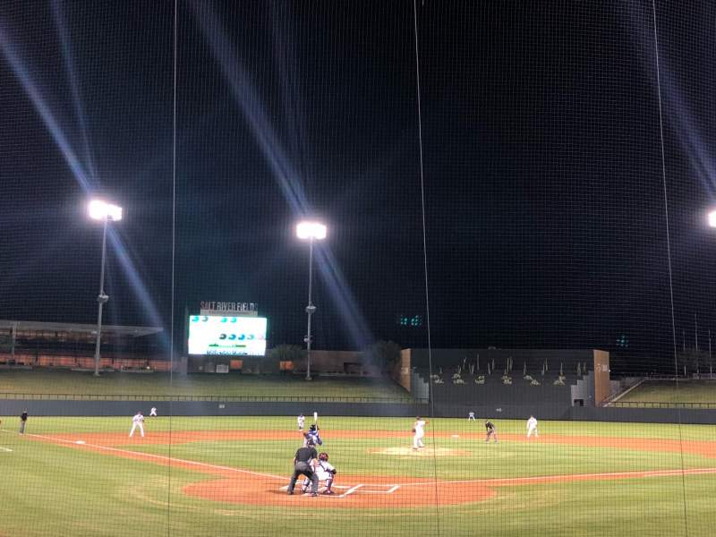 Seating view for Salt River Fields Section 111 Row 11 Seat 13