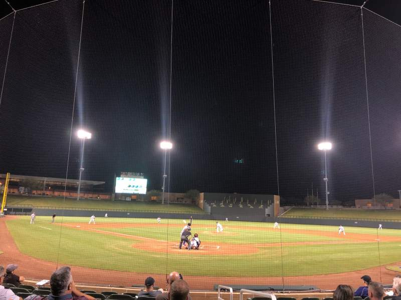 Seating view for Salt River Fields Section 112 Row 10 Seat 1