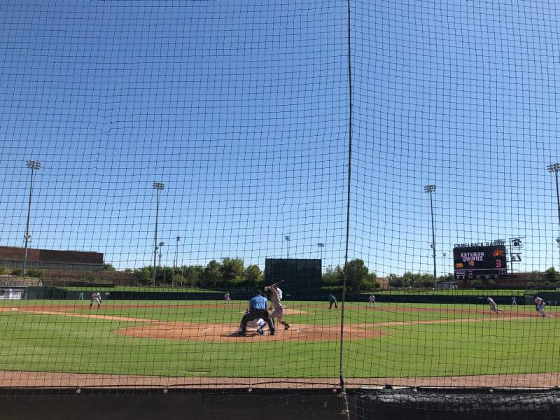 Seating view for Camelback Ranch Section 15 Row 3