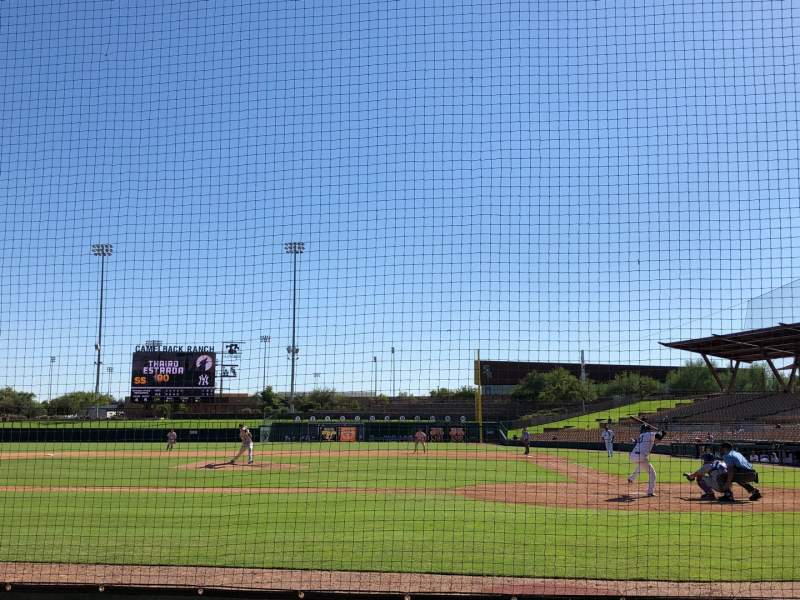 Seating view for Camelback Ranch Section 19 Row 4 Seat 1
