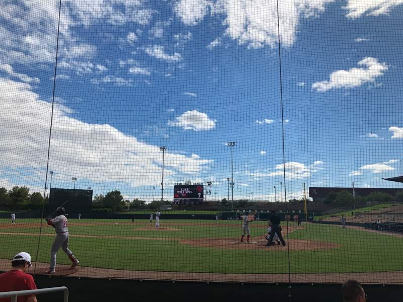 Seating view for Camelback Ranch Section 17 Row 5 Seat 7