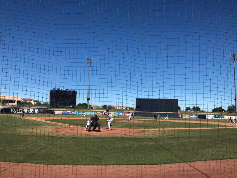 Seating view for Peoria Sports Complex Section 102 Row C Seat 5