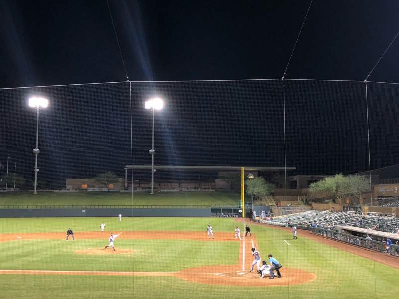Seating view for Salt River Fields Section 214 Row 5 Seat 16