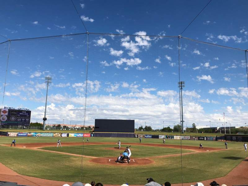 Seating view for Peoria Sports Complex Section 100 Seat 10