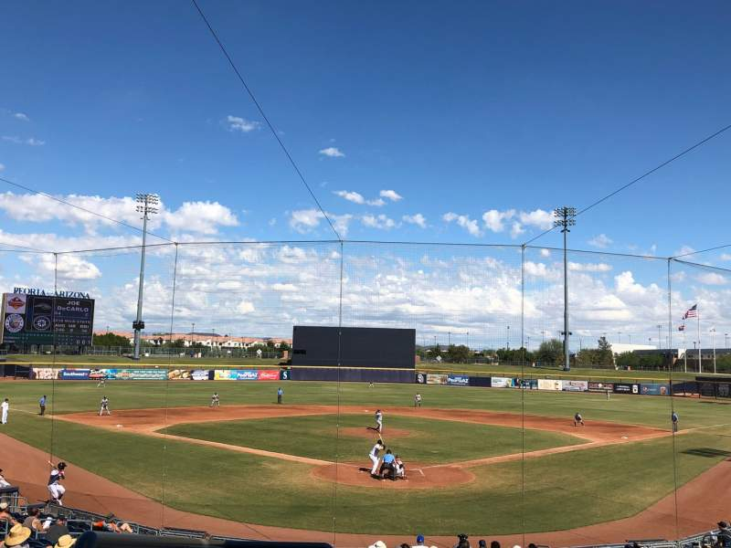 Seating view for Peoria Sports Complex Section 200 Row FF Seat 12