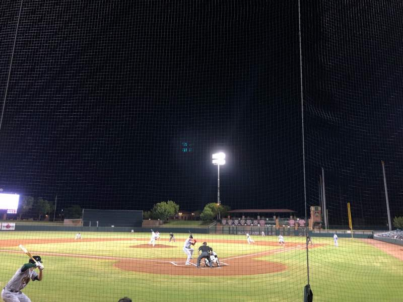 Seating view for Scottsdale Stadium Section 103 Row E Seat 3