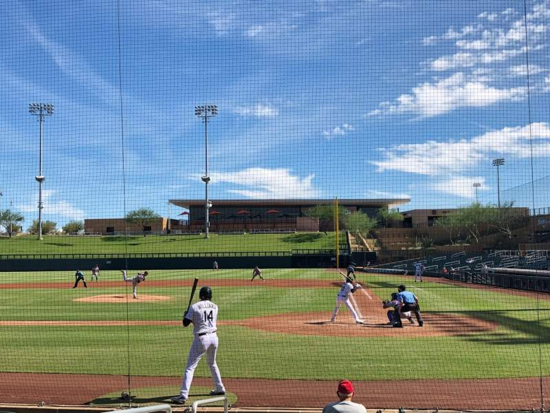 Seating view for Salt River Fields Section 114 Row 10 Seat 13