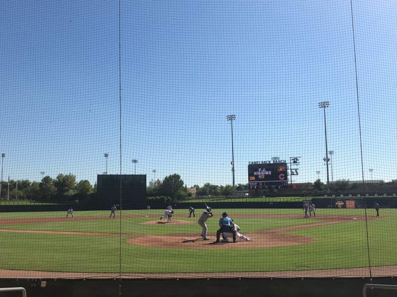 Seating view for Camelback Ranch Section 16 Row 7 Seat 4