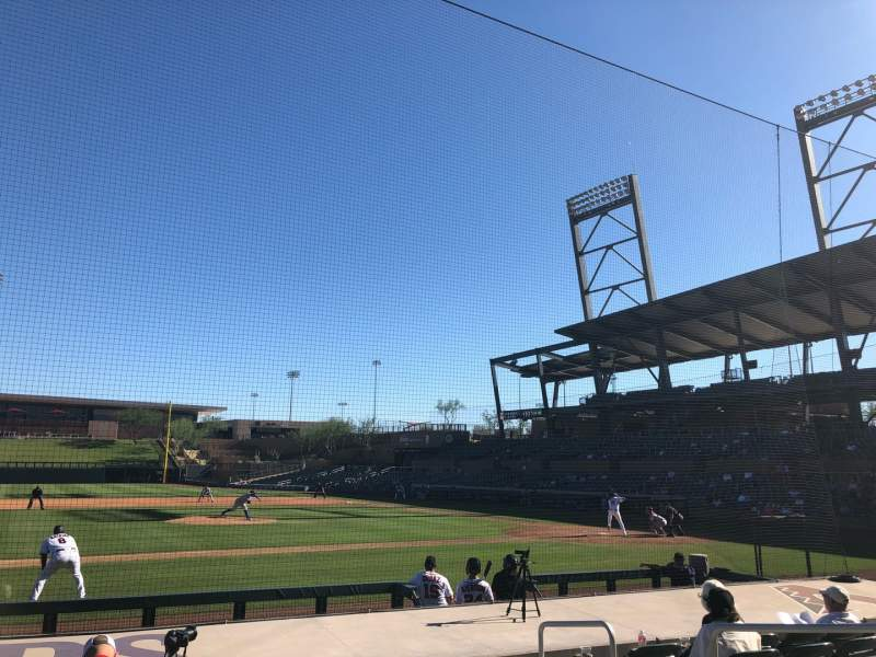 Seating view for Salt River Fields Section 117 Row 11 Seat 5